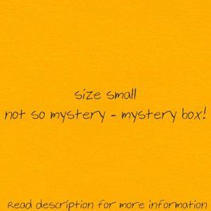 (LARGE BOX) SMALL NOT SO MYSTERY-MYSTERY BOX